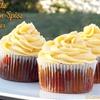 Ghirardelli Chocolate Pumpkin Spice Cupcakes