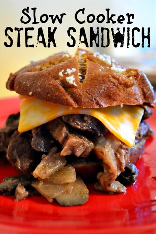 Slow Cooker Steak Sandwiches
