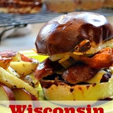 Wisconsin Brat Burger