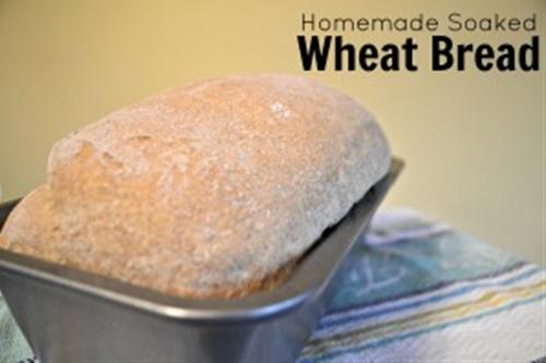 Homemade Soaked Wheat Bread