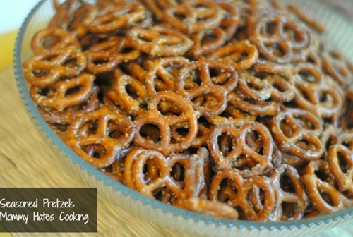 Soft Seasoned Pretzels Recipe — Dishmaps