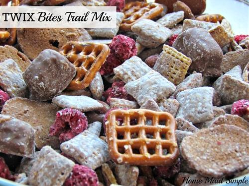 TWIX Bites Trail Mix #EatMoreBites #shop