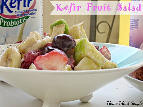 Kefir Fruit Salad