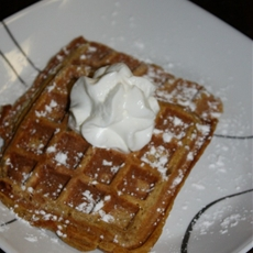 Best ever pumpkin pie waffle recipe