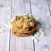 White chocolate cranberry cookies that will tickle