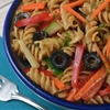 Easy italian pasta salad with a flavor punch
