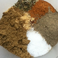 DIY chili seasoning