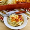 Green Chile & Chicken Enchilada Casserole