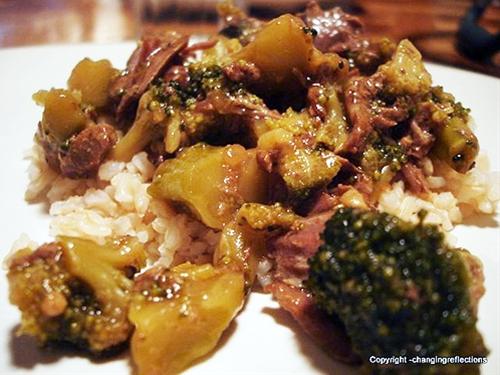 Crockpot Broccoli Beef