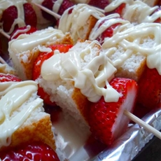 Strawberry Shortcake Kabobs