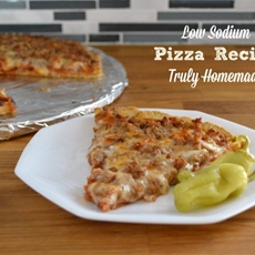 Low Sodium Pizza