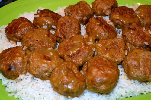 Low Sodium Norwegian Meatballs
