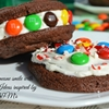 Semi-homemade M&M Sandwich Cookies and Whoopie Pies #shop