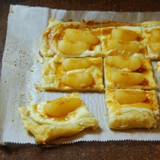 Roasted Pear Puff Pastry