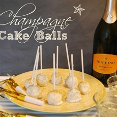 Champagne Cake Pops | The TipToe Fairy