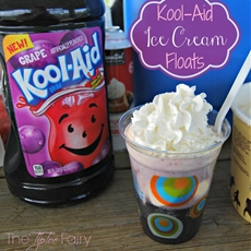 #KoolOff with Kool-Aid Ice Cream Floats
