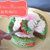 Christmas Morning Cake Mix Waffles