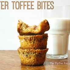 Sticky Butter Toffee Bites