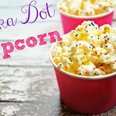 Polka Dot Popcorn