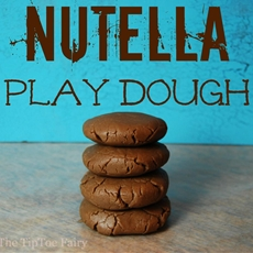 Yummy Nutella Play Dough