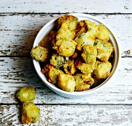 Southern Buttermilk Fried Okra