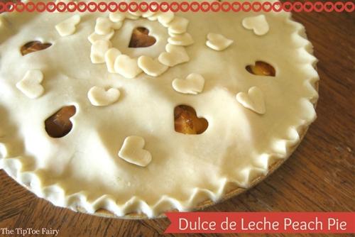 Dulce de Leche Peach Pie For Your Sweetie Pie