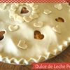 Dulce de Leche Peach Pie For Your Sweetie Pie