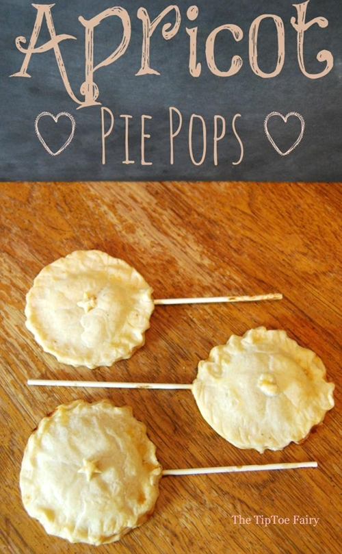 Apricot Pie Pops | The TipToe Fairy