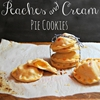 Peaches and Cream Pie Cookies