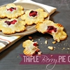 Triple Berry Pie Cookies