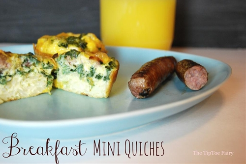 Breakfast Mini Quiche