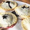 Starry Night Blueberry Hand Pies