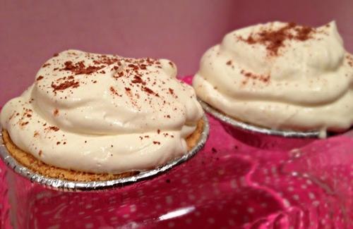 Mini Chocolate Cream Pie Tarts