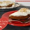 No Bake Dulce to Leche Cream Pie