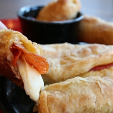 Puff Pastry Pizza Sticks