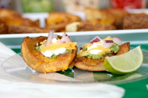 Potato Skin Appetizer Bar! - Delicate Construction