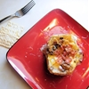 Cheesy Bacon and Mushroom Baked Potatoes
