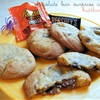 Chocolate Bar Surprise Cookies