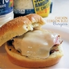Ground Chicken Cordon Bleu BBQ Burgers