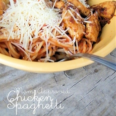Mom-Approved Chicken Spaghetti