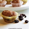 Cinnamon Raisin Mini Muffins