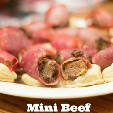 Mini beef wellington appetizers