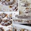 The Best Brownie Cookies with Pecans and Coconut Flakes!