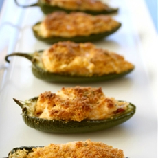 Bacon Ranch Jalapeno Poppers with Southwestern Sauce