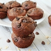 Skinny Oatmeal Chocolate Chip Muffins
