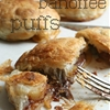 Chocolate banoffee puffs