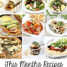 This month's recipes: June 2014