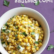 Garlic butter sautéed corn