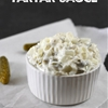 Easy homemade tartar sauce