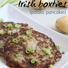 Irish boxties (potato pancakes)
